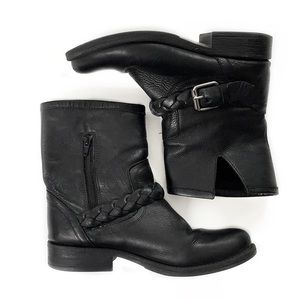 Steve Madden • Flair Leather Motorcycle Boots